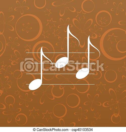 Music icon - csp40103534