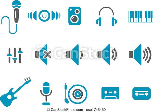 Music Icon Set - csp1748450