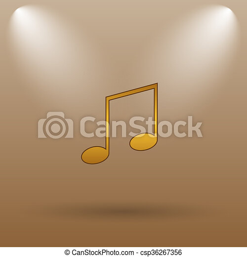 Music icon - csp36267356