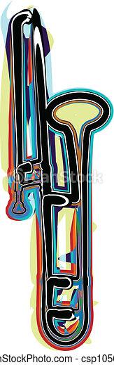 Music instrument vector illustration - csp10568666