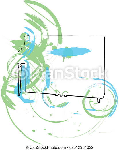 music instrument. vector illustration - csp12984022