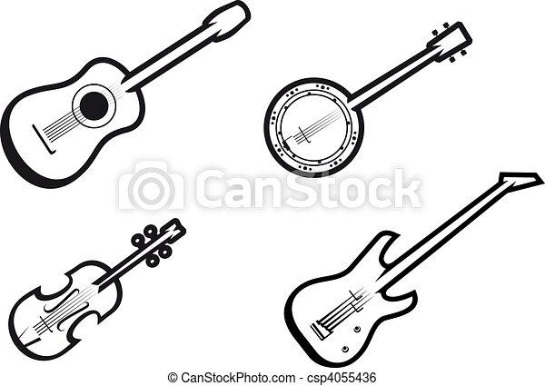 Music instruments - csp4055436