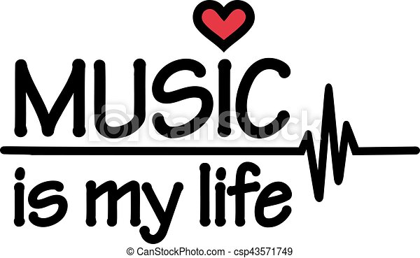 Music Is My Life With Heartbeat