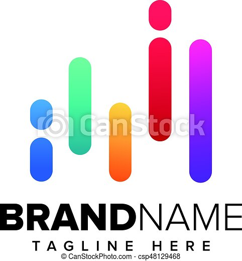 music logo concept sound wave audio technology an amazing clip rh canstockphoto ie sound wave vector graphic free