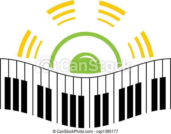 Music logo - csp1385177