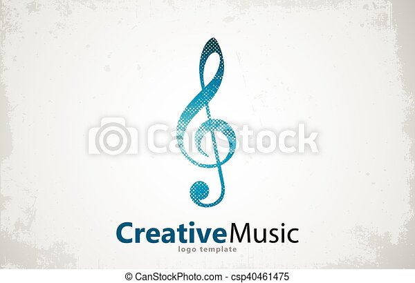 Music Logo Vector Musical Key Note Template Logo Note  Vectors