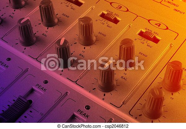 Music mixer - csp2046812