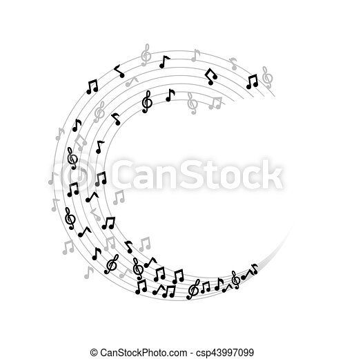 Music Note Symbol Icon Vector Illustration Graphic Design Eps