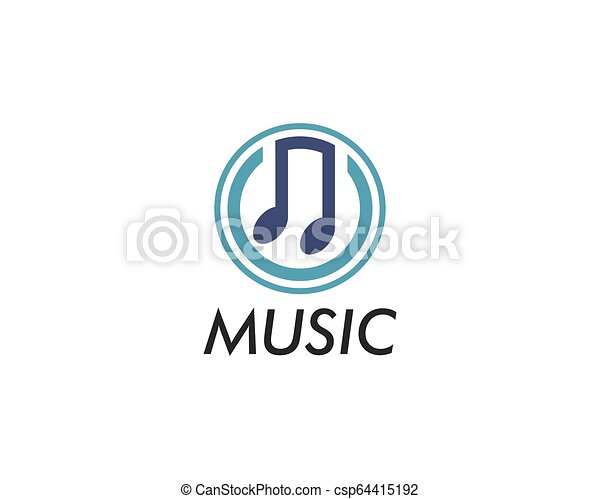 Music note vector icon - csp64415192