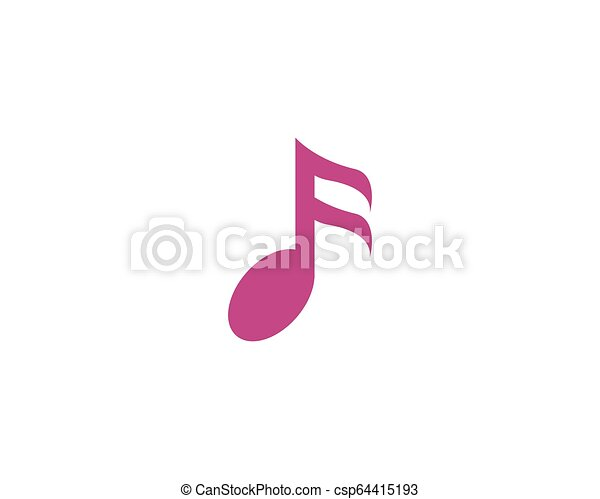 Music note vector icon - csp64415193