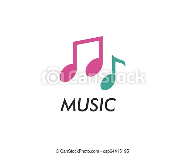 Music note vector icon - csp64415195