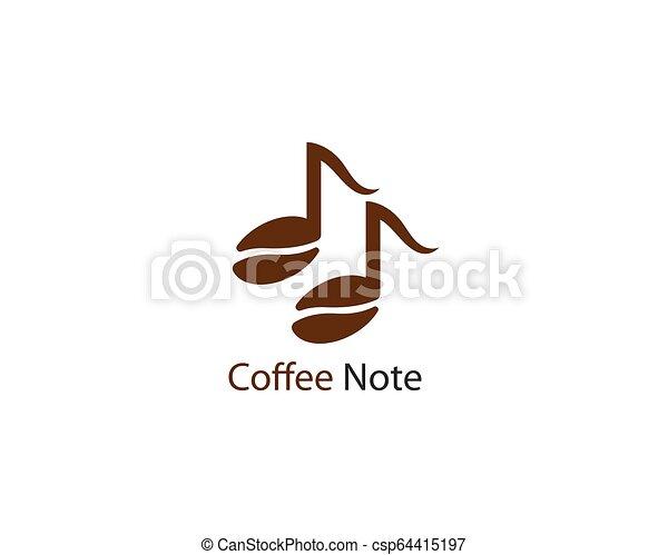 Music note vector icon - csp64415197