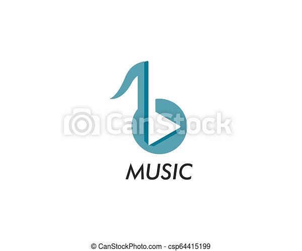 Music note vector icon - csp64415199