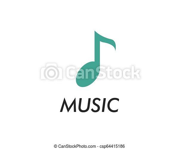 Music note vector icon - csp64415186