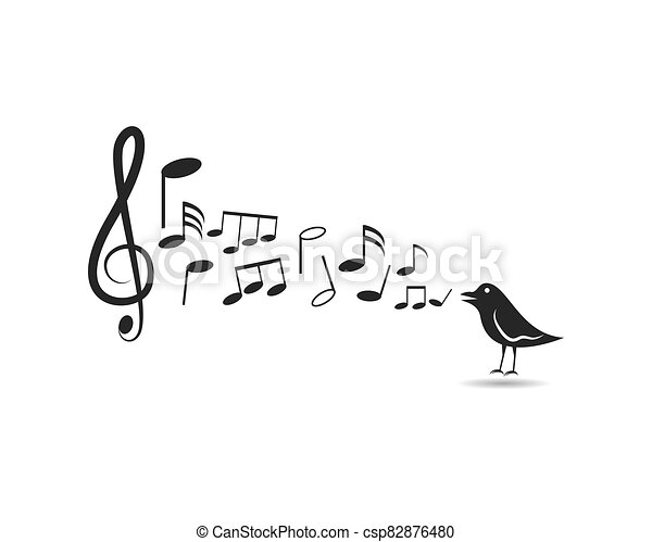 Music note vector icon - csp82876480