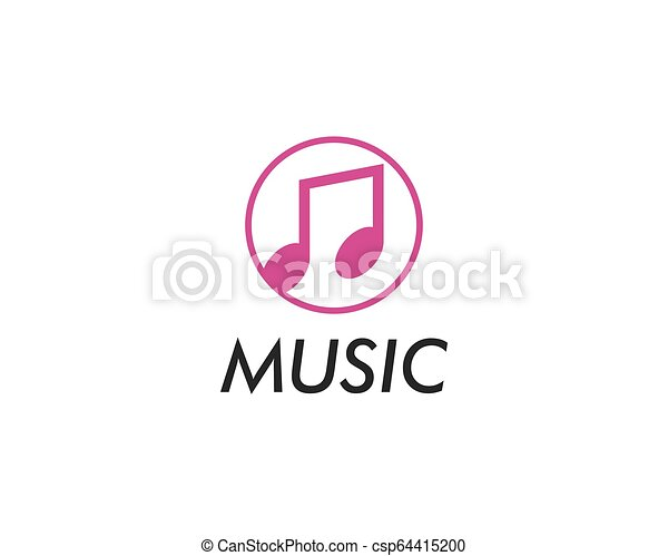 Music note vector icon - csp64415200