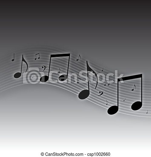 Music Notes Background - csp1002660