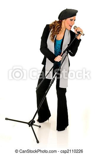 Music performer, singer - csp2110226