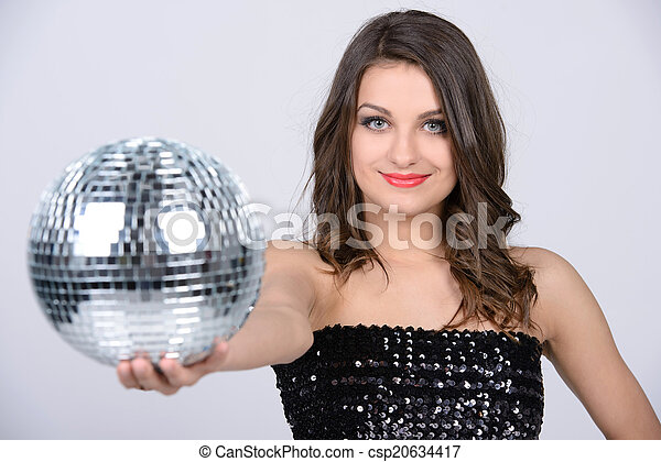Music sexy lady
