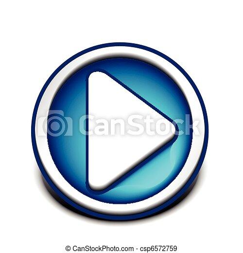 music play icon - csp6572759