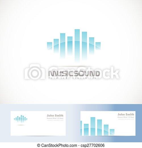 Music sound volume logo - csp27702606