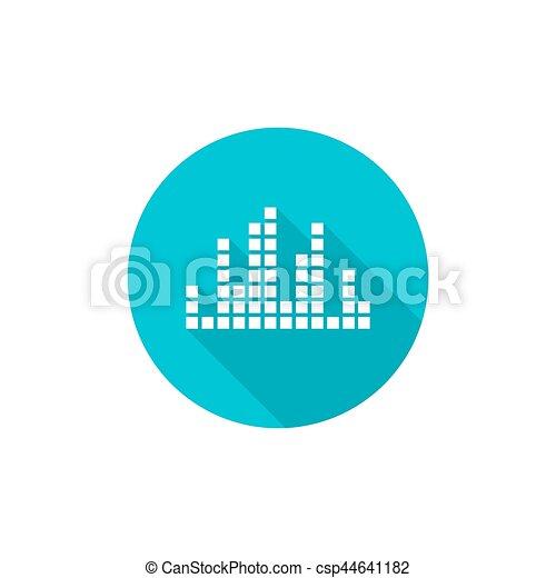 Music sound wave. - csp44641182