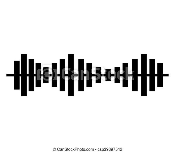 music sound waves audio technology musical pulse vector eps rh canstockphoto com