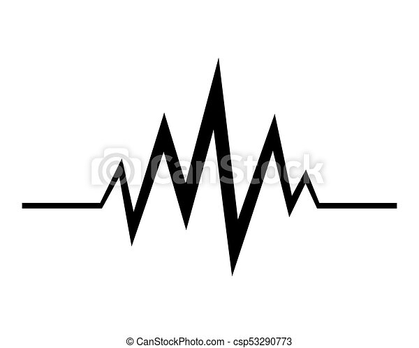 audio technology music sound waves vector icon illustration rh canstockphoto com sound wave vector graphic free