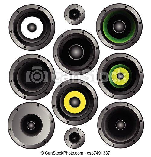 music speakers clipart. vector - music speaker illustration speakers clipart g
