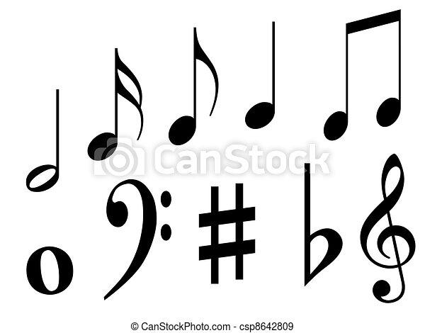 Black Music Symbols