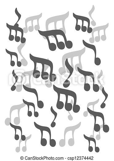 Creative Design Of Music Symbols Eps Vector Search Clip Art