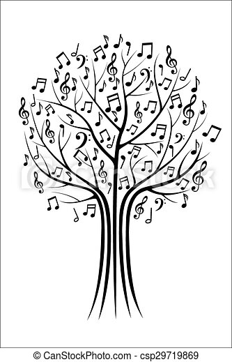 Music tree - csp29719869