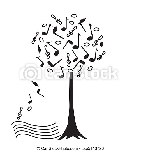 Music tree - csp5113726