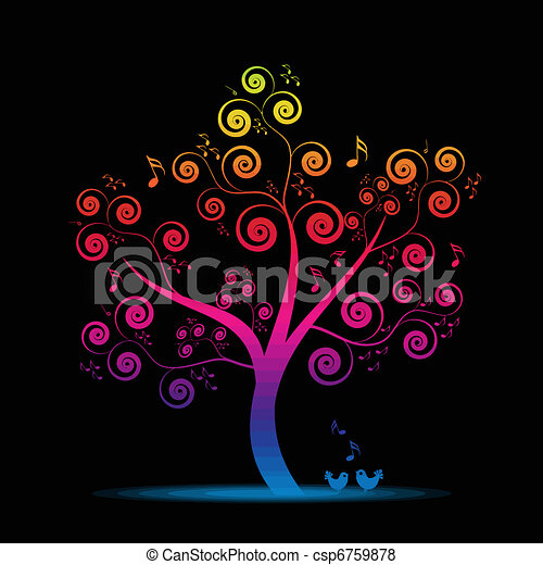 Music tree - csp6759878