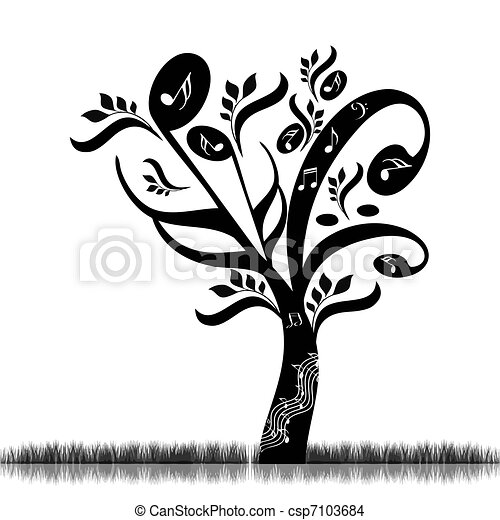 Music tree - csp7103684