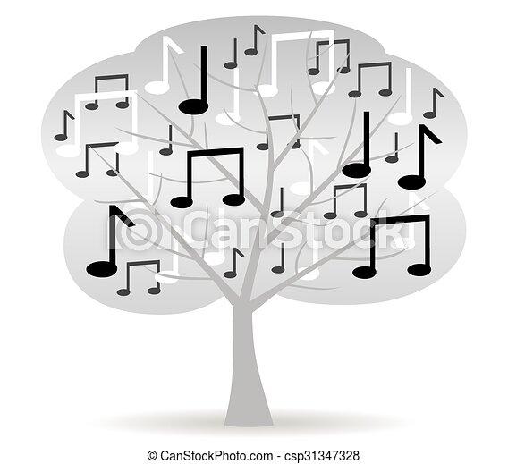 music tree - csp31347328