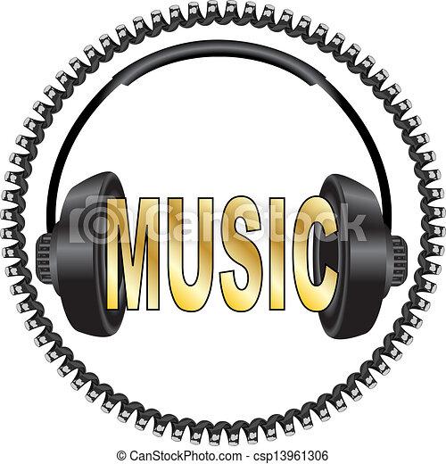 music  - csp13961306