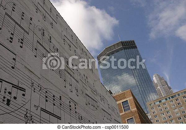 Music Wall - csp0011500