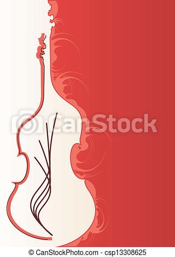 musica, delicato, fondo, eventi - csp13308625