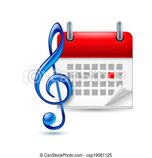 musica, evento, icona - csp19581125