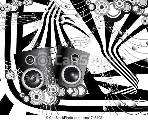 musica, futuristico - csp1746403
