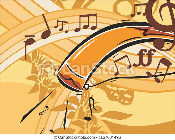 Musical Background - csp7001496
