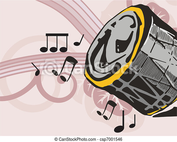 Musical Background - csp7001546