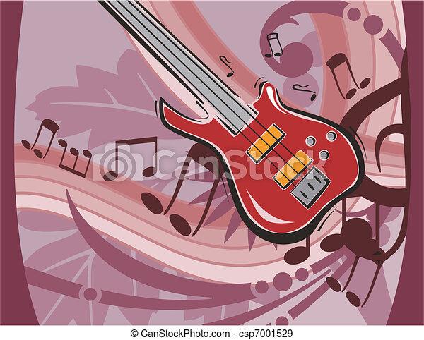 Musical Background - csp7001529