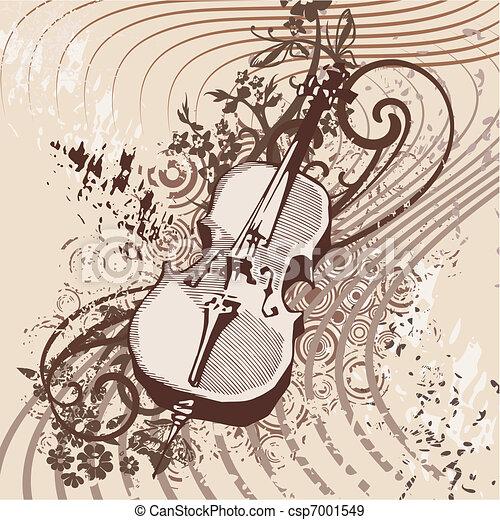 Musical Background - csp7001549