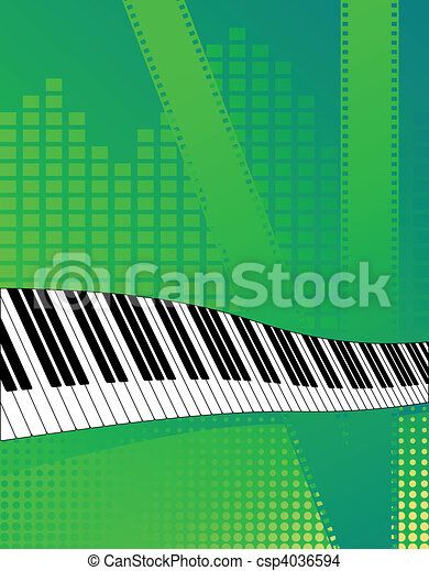 Musical background - csp4036594