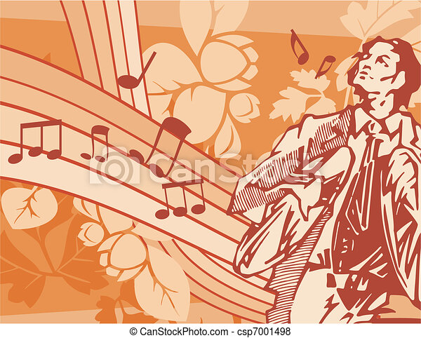 Musical Background - csp7001498