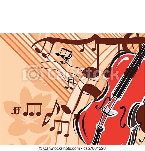 Musical Background - csp7001528