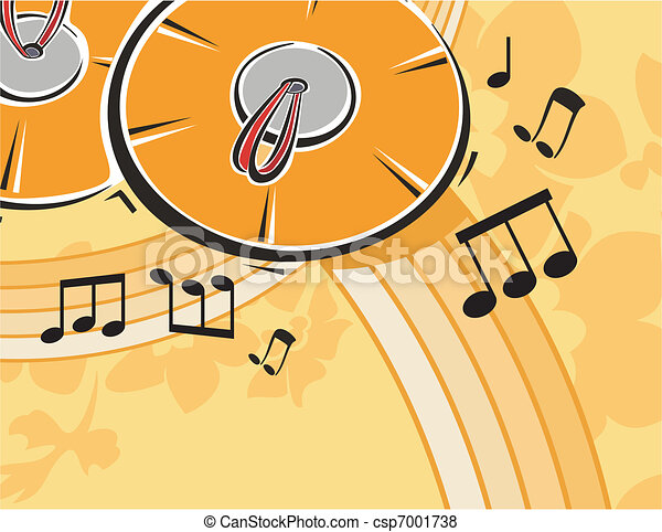 Musical Background - csp7001738