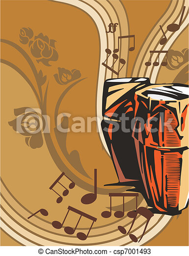 Musical Background - csp7001493